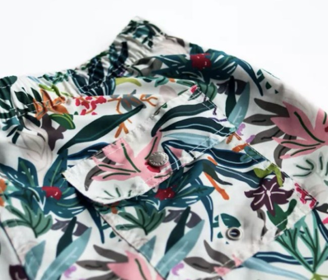 bather trunk co colour jungle