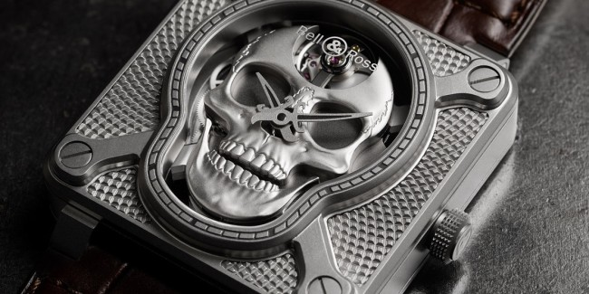 Bell & Ross BR 01 Laughing Skull watch