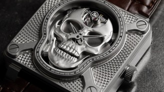 This Bell & Ross 'Laughing Skull' Watch Is The Ultimate In Timepiece Badassery