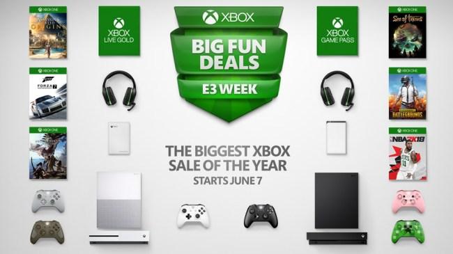 Biggest Xbox Sale 2018 E3