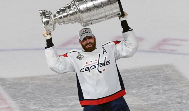 Brooks Orpik Finger Reattached Stanley Cup