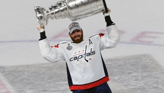 Caps Player Had Part Of A Finger Sliced Off, Reattached During Stanley Cup Final Because Hockey