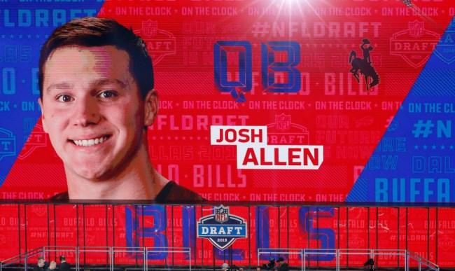 Buffalo radio quits Bills draft Josh Allen
