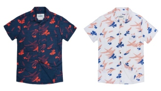 These Soft Terry-Lined Short Sleeve Buttondowns From California Cowboy Are Perfect For Summer