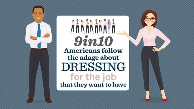 Confidence How You Dress Get Ahead Career