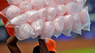 A Minor League Baseball Team Served Hot Dogs In Cotton Candy Buns And I Just Vomited A Little
