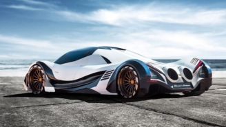 This Jet Fighter-Inspired 5,000 HP Quad-Turbo Devel Sixteen Hypercar Is Completely Insane