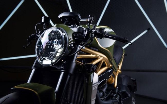 Diamond Atelier Ducati Monster 24K Gold