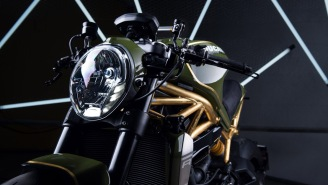 This One-Of-A-Kind Diamond Atelier Ducati Monster 1200R With 24K Gold Accents Is A Dream
