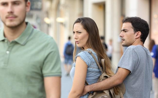 Distracted Boyfriend Meme Girlfriend Stunned Screens