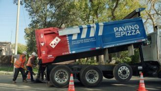 Domino's Is Fixing America's Potholes Because They're Ruining Pizza, They'll Even Repair Your Roads