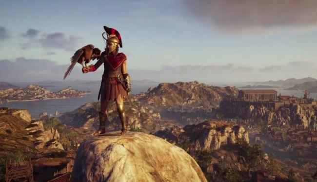 E3 Assassins Creed Odyssey Hitman Footage