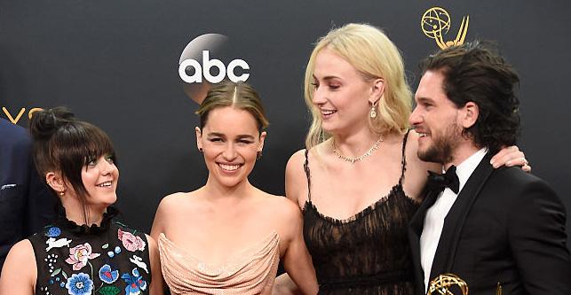 Emilia Clarke Final Scene Wrap Party