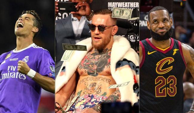 Forbes 2018 List Highest Paid Athletes