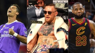 Forbes' 2018 List Of The 100 Highest Paid Athletes Made A Combined $3.8 BILLION
