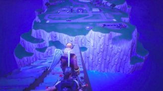 Watch A 'Fortnite' Gamer Jump To The Mystical Spawn Island For The First Time Ever