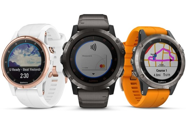 Garmin Fenix 5 Plus smartwatches
