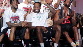 LeBron James Met With Udonis Haslem And Dwyane Wade In Miami Before NBA Finals