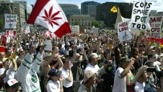 Canada Becomes The Second Country In The World To Legalize Marijuana With Historic Bill