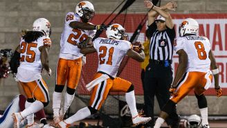 A CFL Player Laid Out A Streaker When Stadium Security Failed To Show Up