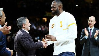 Dan Gilbert Pens Farewell Letter To LeBron James That Surprisingly Doesn't Sound Like A Jilted Ex
