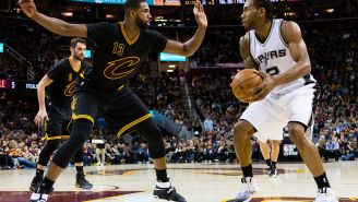 The Cavs Have Reportedly Offered Kevin Love And The #8 Pick In The Draft For Kawhi Leonard