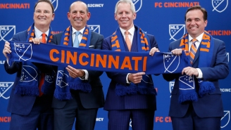 Sports Finance Report: Cincinnati Awarded MLS Franchise as Expansion Fees Rise $10 Million per Year