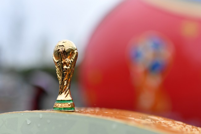 2018 World Cup Trophy Russia