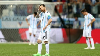 An Argentinian News Broadcast Held A Very Awkward Minute Of Silence After Its World Cup Loss To Croatia