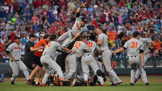 Oregon State Wins College World Series Title Thanks To One Of The Biggest Blunders In CWS History (And A Freshman Pitcher)
