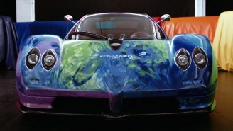 This One-Of-A-Kind Hand-Painted Pagani Zonda S Supercar Is An Automotive Masterpiece