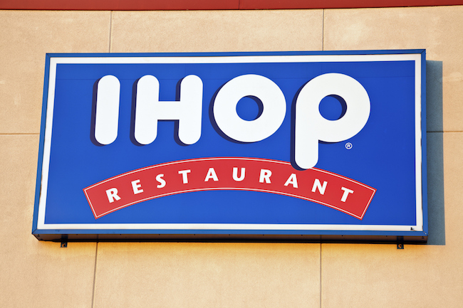 ihop restaurant logo sign