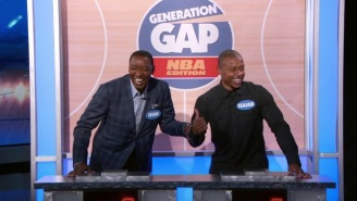 NBA Legend Isiah Thomas Faces Off Against NBA All-Star Isaiah Thomas In A Game Of Trivia