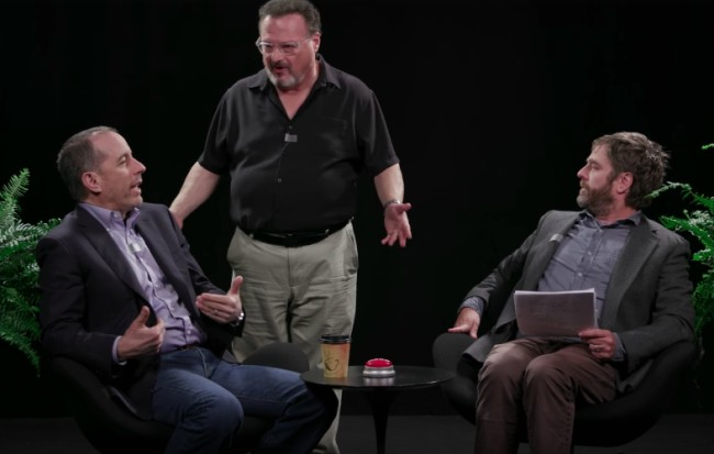 jerry seinfeld between two ferns