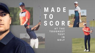 Take A Peek At The Sweet Under Armour Golf Apparel Jordan Spieth Is Wearing At The US Open