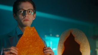 Someone Dropped $12,000 On The World's Largest Dorito But You Can Get One For Free