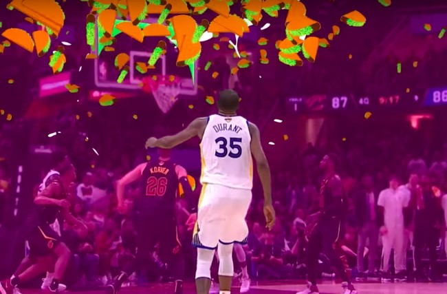 kevin durant free taco bell