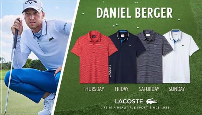 Lacoste Scripting Daniel Berger US Open