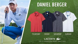 Have A Look At The Lacoste Scripting Daniel Berger Is Wearing At The 2018 US Open