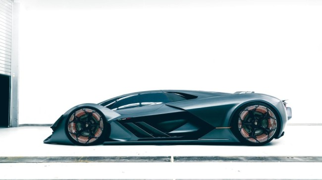 Lamborghini LB48H Terzo Millennio concept car