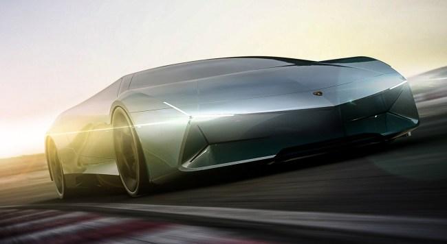 Lamborghini Pura 2022 Electric Supercar Concept