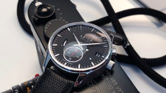 Famed Camera Maker Leica Enters The Luxury Watch Business With Two Pricey Timepieces