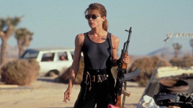 Linda Hamilton Sarah Connor Terminator 6 Pics