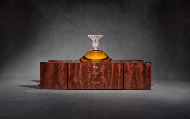 Macallan unveils 72-year-old whisky