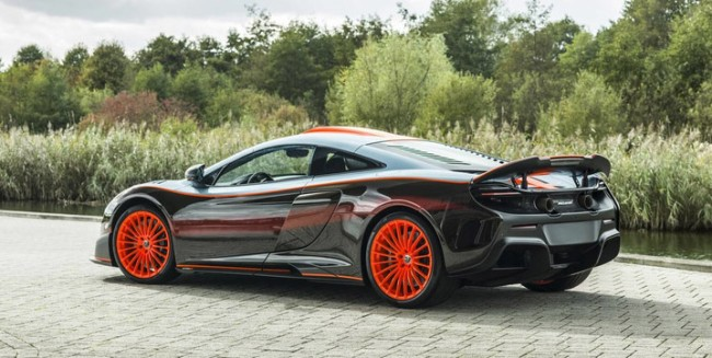 McLaren 675LT MSO F1 Longtail Gulf