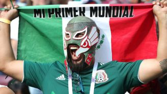 Mexico Fans Set Off Earthquake Sensors While Celebrating A Goal During The World Cup