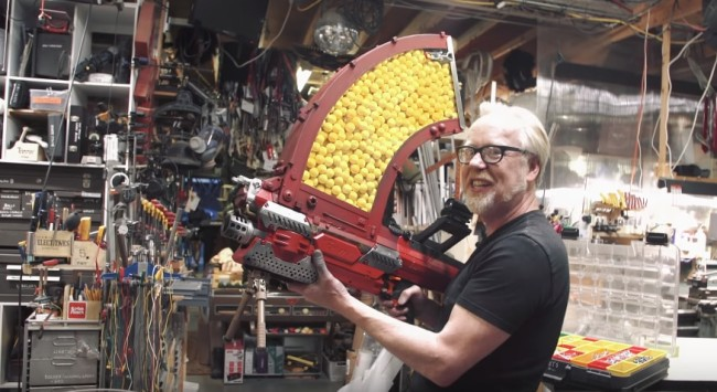 nerf blaster adam savage