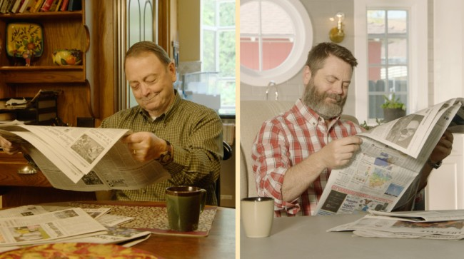 Nick and Ric Offerman Like Father Like Son