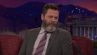 Nick Offerman Talks About Having To Eat Lots Of Fatty Meats With Chris Pratt For An Amazing Reason