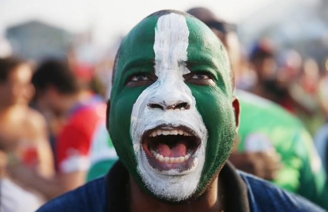 nigeria soccer fan
